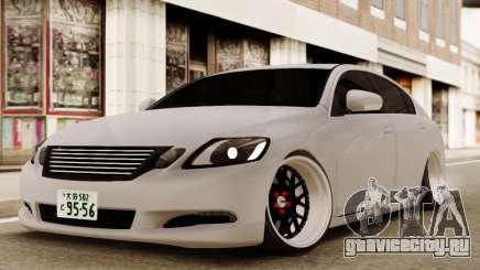 Lexus GS450H для GTA San Andreas