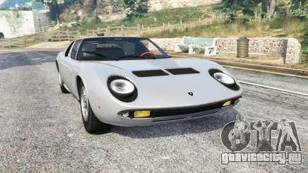 Lamborghini Miura P400 1967 v1.3 [replace] для GTA 5