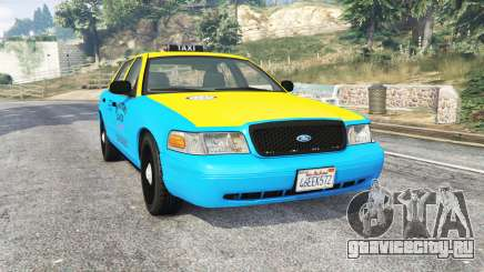 Ford Crown Victoria 2008 Taxi v1.2b [replace] для GTA 5