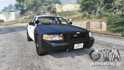 Ford Crown Victoria LSSD [ELS] [replace] для GTA 5