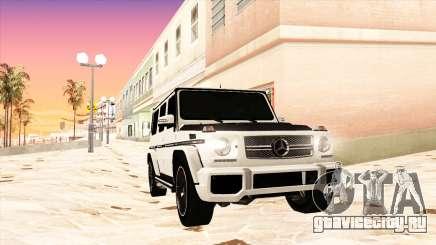 Mercedes-Benz G65 AMG 2013 IVF для GTA San Andreas