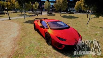 Lamborghini Huracan Performante для GTA 4