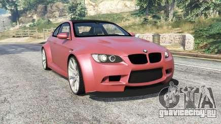 BMW M3 (E92) WideBody v1.2 [replace] для GTA 5