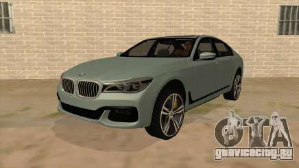 BMW 750d для GTA San Andreas