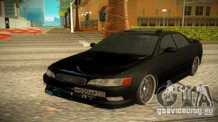 Toyota Mark 2 чёрный для GTA San Andreas