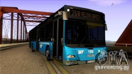MAN Lions City ZET Croatian Bus для GTA San Andreas