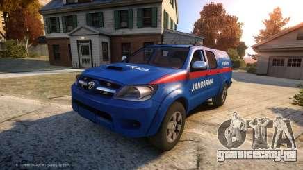 Toyota Hilux Jandarma Olay Yeri Inceleme для GTA 4