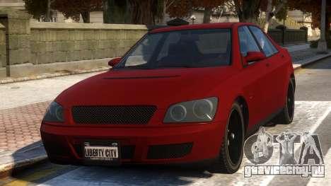 Sultan Lexus 300 для GTA 4