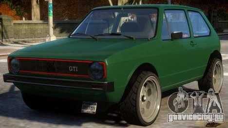 Golf GTI для GTA 4