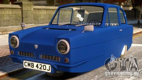 1970 Reliant Regal Sedan для GTA 4