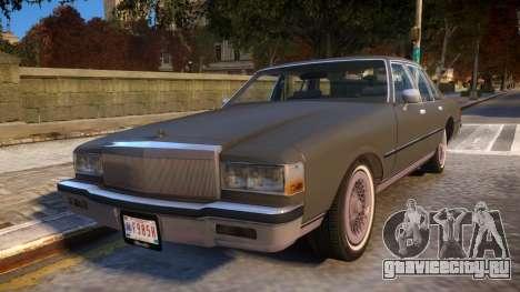1985 Chevrolet Caprice Classic для GTA 4
