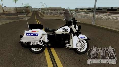 GTA V Copbike Malaysia Police для GTA San Andreas