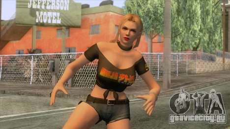 Dead Or Alive 5 - Rachel Skin для GTA San Andreas