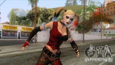 Batman Arkham City - Harley Quinn Skin для GTA San Andreas