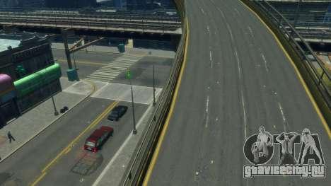 Качественные дороги by toshkaiz для GTA 4