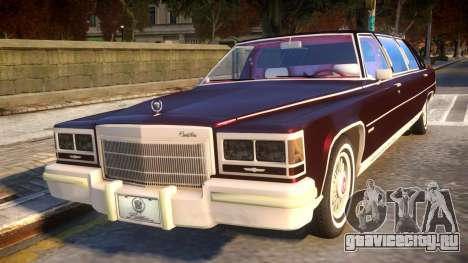 Cadillac Fleetwood Limousine 1985 для GTA 4