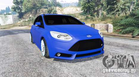 Ford Focus ST (C346) 2013 v1.1 [replace] для GTA 5