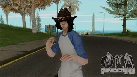Carl Grimes from The Walking Dead для GTA San Andreas