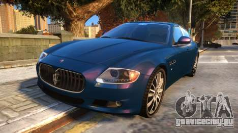 Maserati Quattroporte Sport GTS 2011 Baku Style для GTA 4