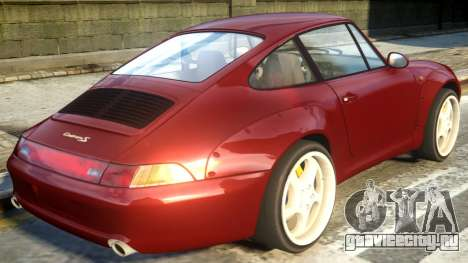 1995 Porsche 911 Carrera S v1.1 для GTA 4