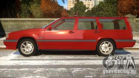 Volvo 850R для GTA 4 вид слева