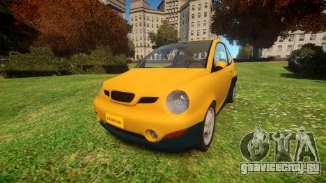 1997 Daewoo Matiz для GTA 4