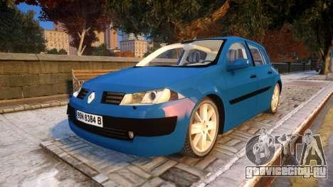 Renault Megane 2 для GTA 4