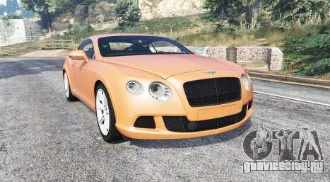 Bentley Continental GT 2012 v1.2 [replace] для GTA 5