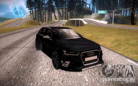 Audi RS6 Avant для GTA San Andreas