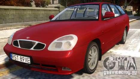 Daewoo Nubira II Wagon CDX Delux 2001 для GTA 4