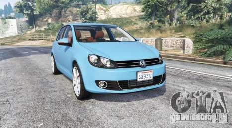 Volkswagen Golf (Typ 5K) v2.1 [replace] для GTA 5
