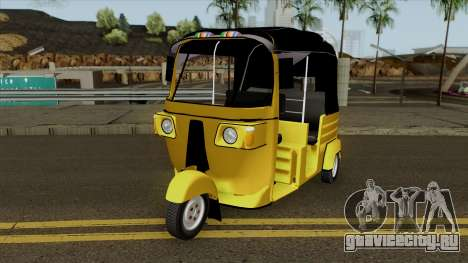 Sri Lankan Three Wheeler Taxi для GTA San Andreas