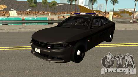 Dodge Charger RT Sheriff Department для GTA San Andreas