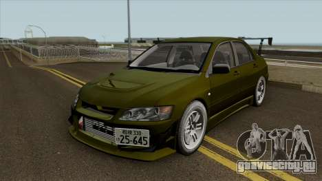 Kobayakawa Mitsubishi Evolution VII для GTA San Andreas