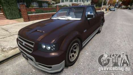 Vapid Contender With License Plates для GTA 4