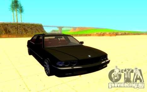 BMW E38 760L для GTA San Andreas