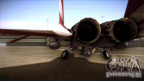 F-15C Patriot для GTA San Andreas