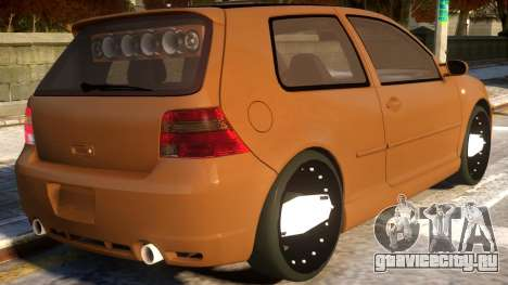 VW Golf R32 Euro DUB Componet Parts для GTA 4
