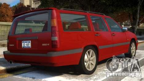 Volvo 850R для GTA 4 вид справа