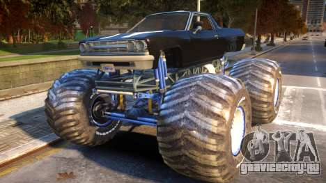 Cheval Picador Monster Truck для GTA 4