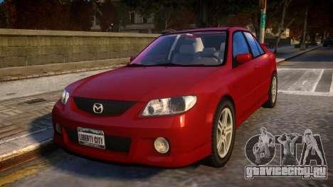 Mazda MazdaSpeed Familia для GTA 4