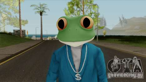 Toad Frog Mask From The Sims 3 для GTA San Andreas