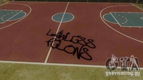 Felons Gang Environment and Graffiti для GTA San Andreas