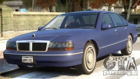 Chevy Caprice Classic V1.2 для GTA 4