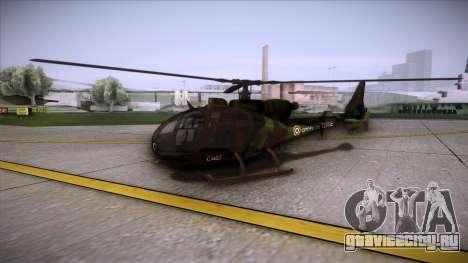 SA.341 GAZELLE Wargame: Red Dragon для GTA San Andreas