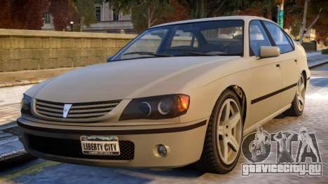 Merit to Chevy Impala для GTA 4