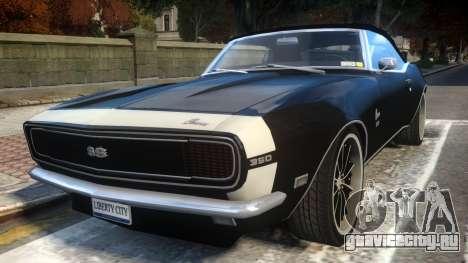 Chevrolet Camaro Mk.I 1968 Wheel EPM v1.0 для GTA 4