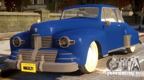 Lincoln Continental Coupe 1942 для GTA 4