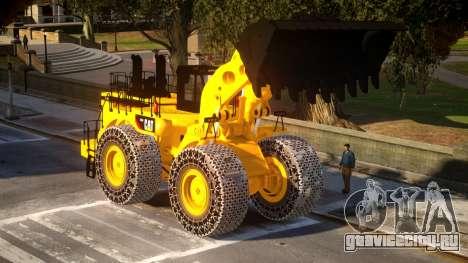 CAT 994F Worlds Big Chains Wheel Loader 3.0 для GTA 4