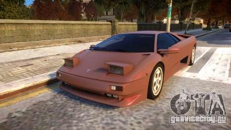1990 Lamborghini Diablo v1.1 для GTA 4